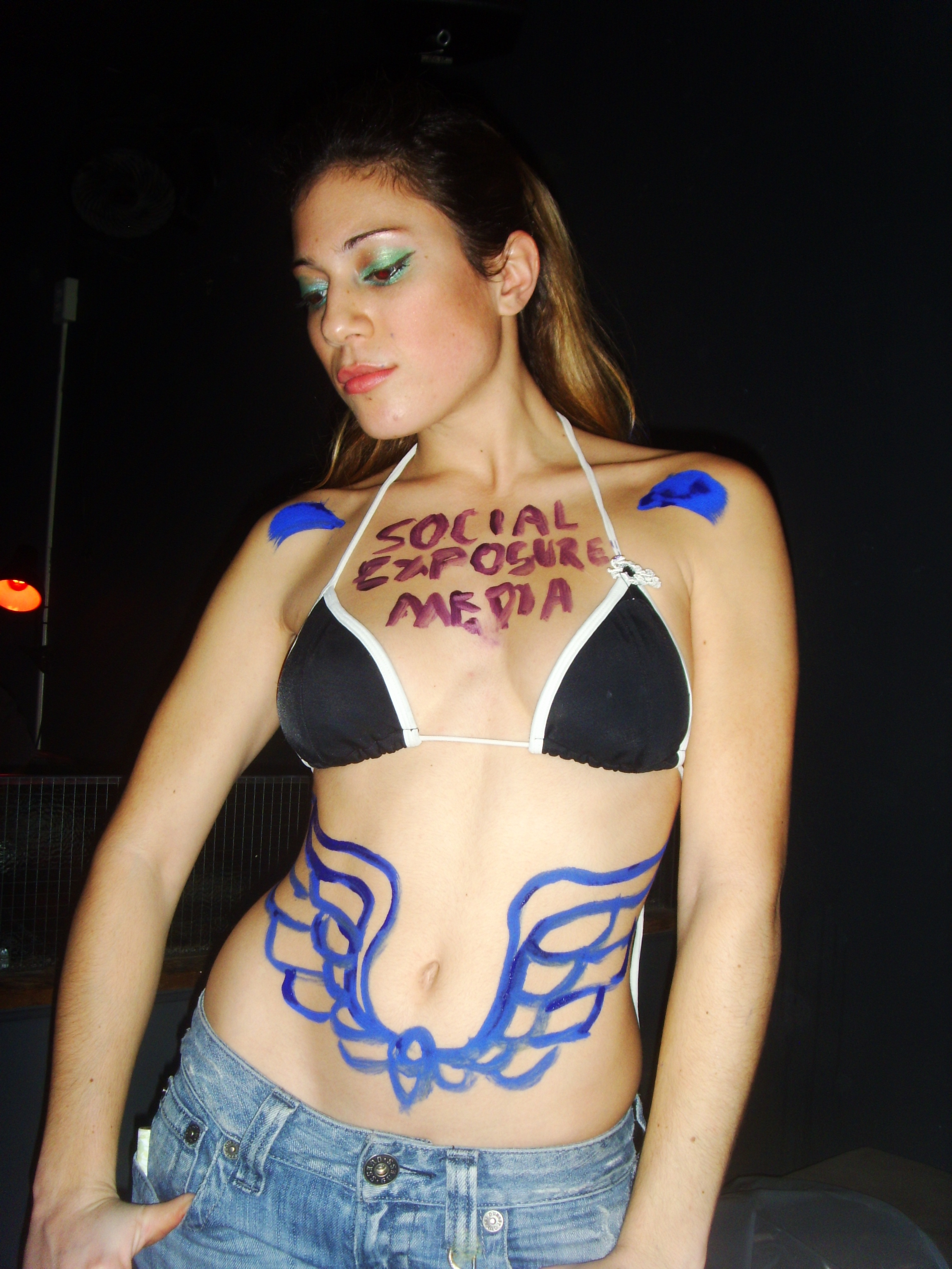 amateur body painting